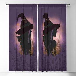 Samhain Summers End Celtic Harvest Festival Blackout Curtain