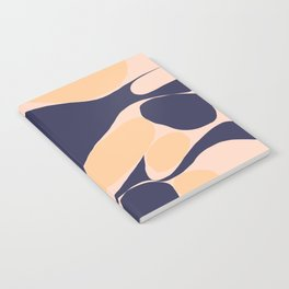 Abstraction_Organic_Shape_Minimalism_001 Notebook