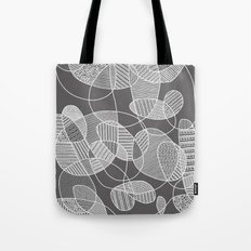 Tangled in B&W Tote Bag