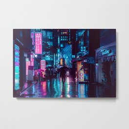 Myeongdong at night Metal Print