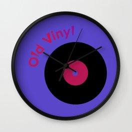 Old Vinyl Wall Clock