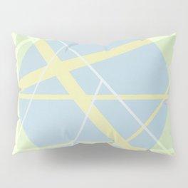 Crossroads ll - color hexagon Pillow Sham