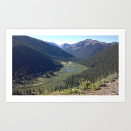 Colorado Art Print