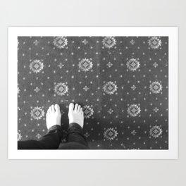 feet Art Print