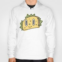taco Hoodies featuring Taco Buddy by Frenemy