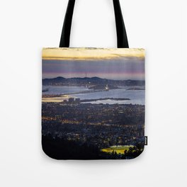 Magic Hour of the SF Bay Area Tote Bag