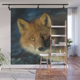 Red Fox in the Wild Wall Mural