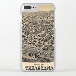 Texarcana 1888 Clear iPhone Case