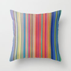 STRIPES 12 Throw Pillow