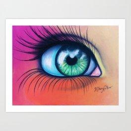 Kaleidoscopic Vision Art Print