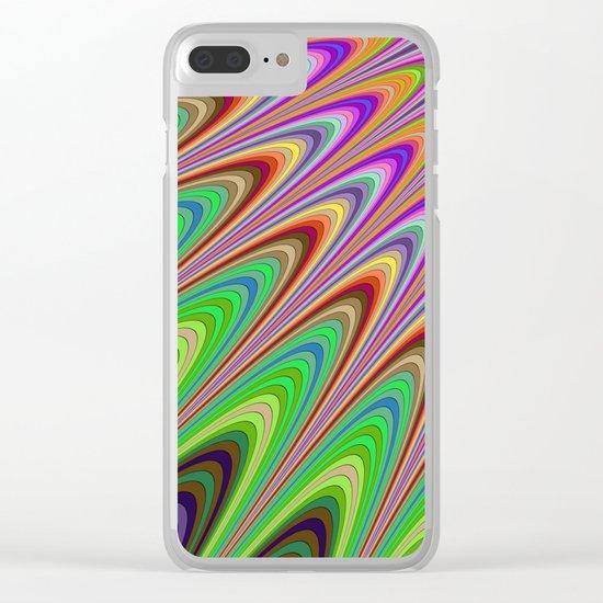 Magical summer sunshine Clear iPhone Case