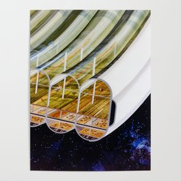 Agricultural modules on a Bernal sphere Poster