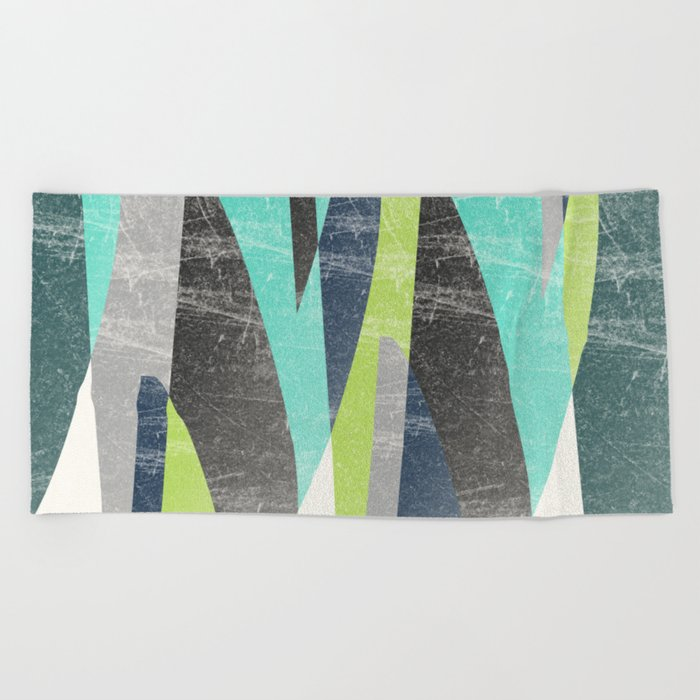 Fragments XV Beach Towel