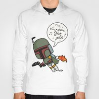 boba Hoodies featuring boba by kaylieghkartoons