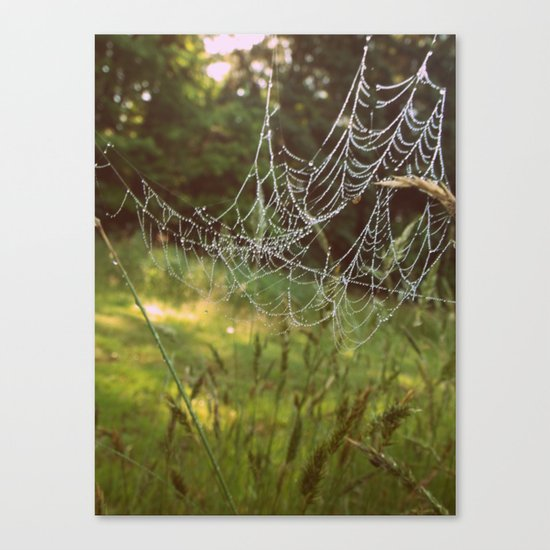 Beads on a String Canvas Print
