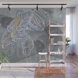 Northstar Resort Trail Map Wall Mural