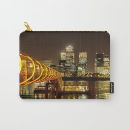London, Piers of Docklands Hilton Carry-All Pouch