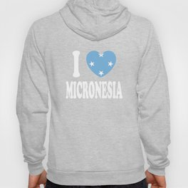 I Love Micronesia Hoody