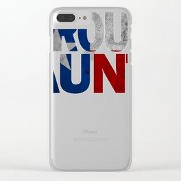 Aunt Design and Texas Design Aunt Design Texas Flag Design  Clear iPhone Case