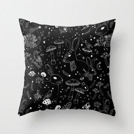Stars & Animals Cosmic Constellation Pattern Throw Pillow
