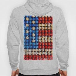 Baseball American Flag - For Baseball Lovers Hoody