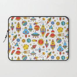 Outer space cosmos pattern Laptop Sleeve