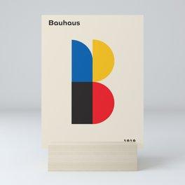 "Vintage poster-Bauhaus ""B"" 1918. Mini Art Print"