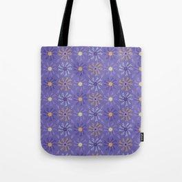 Flower Bloom Petals Vector Pattern Tote Bag