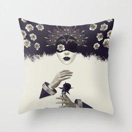 Divine Beauty Throw Pillow