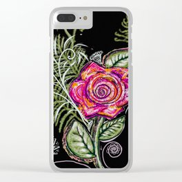 RazzleRose Clear iPhone Case