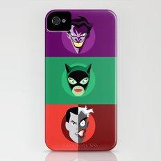 Villains iPhone (4, 4s) Slim Case