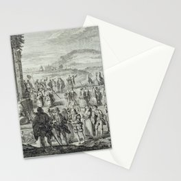A.J. Defehrt - Cortège of Janus (1764) Stationery Cards