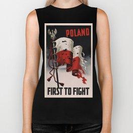Poland First To Fight Biker Tank