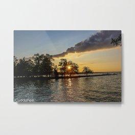 Cayuga Lake Sunset  Metal Print