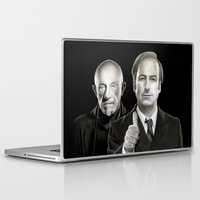 better call saul Laptop & iPad Skins featuring Better call Saul by Giampaolo Casarini