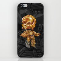 c3po iPhone & iPod Skins featuring C3PO by oRen