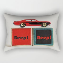 Mustang baby Rectangular Pillow