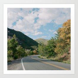 Canyon Road II Art Print