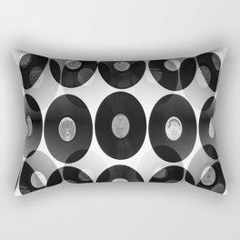 Something Nostalgic II - Black And White #decor #buyart #society6 Rectangular Pillow