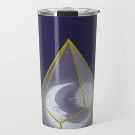 locked in crystal glass Travel Mug