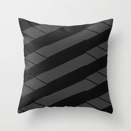 Crunchy Lines, No. 19 Throw Pillow