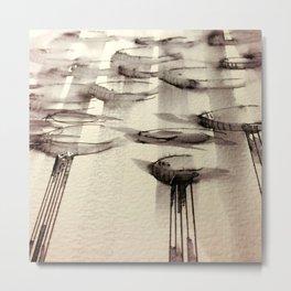 Angled Metal Print