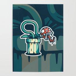 Piranha Plant - Super Mario Bros Poster