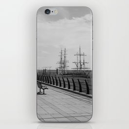 Lost in the Harbour. iPhone Skin