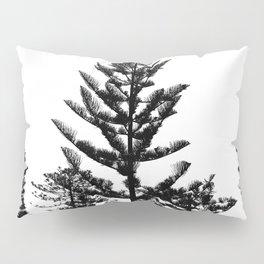 Black and white trees Pillow Sham