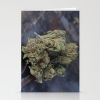 medical Stationery Cards featuring Medical Marijuana Deep Sleep by BudProducts.us
