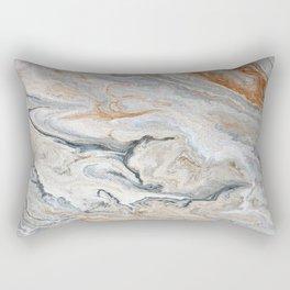 Faux Marble Rectangular Pillow