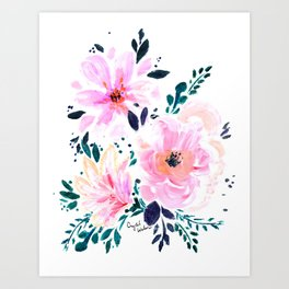 Floral Daydream Art Print