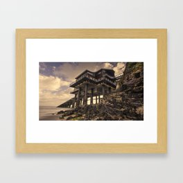 The New Lifeboat House at Tenby  Framed Art Print
