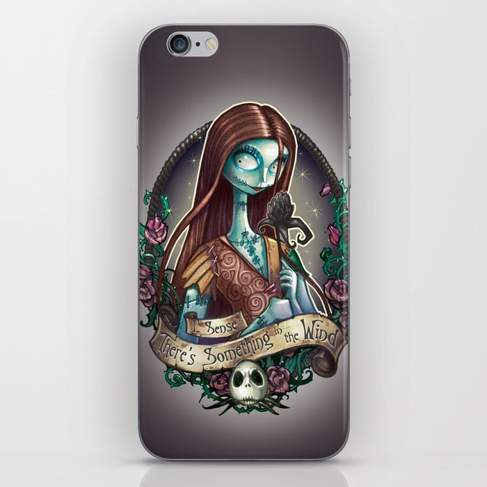 """""""Something In the Wind"""" iPhone Skin"""